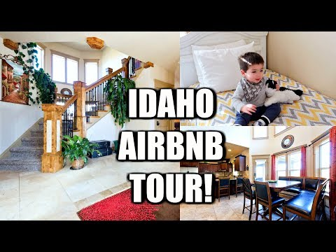 HUGE IDAHO AIRBNB HOUSE TOUR!