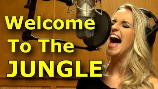 Gabriela Gunčíková - How To Sing Guns n Roses - Axl Rose - Welcome To The Jungle cover- Ken Tamplin