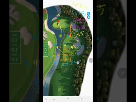 Golf Clash General Instruction Video Southern Pines 2nd Tee Hole 9