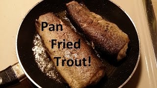 Fish Fry, Fried Trout In Olive Oil And Butter