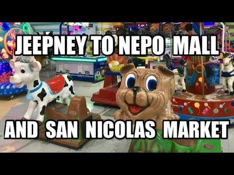Jeepney2 SAN NICOLAS PUBLIC MARKET NEPO MALL - Angeles City, Philippines