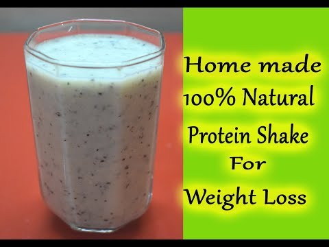 Healthy Homemade Protein Shake For Weight Loss 100% Natural Without Protein Powder/Prerna Jha