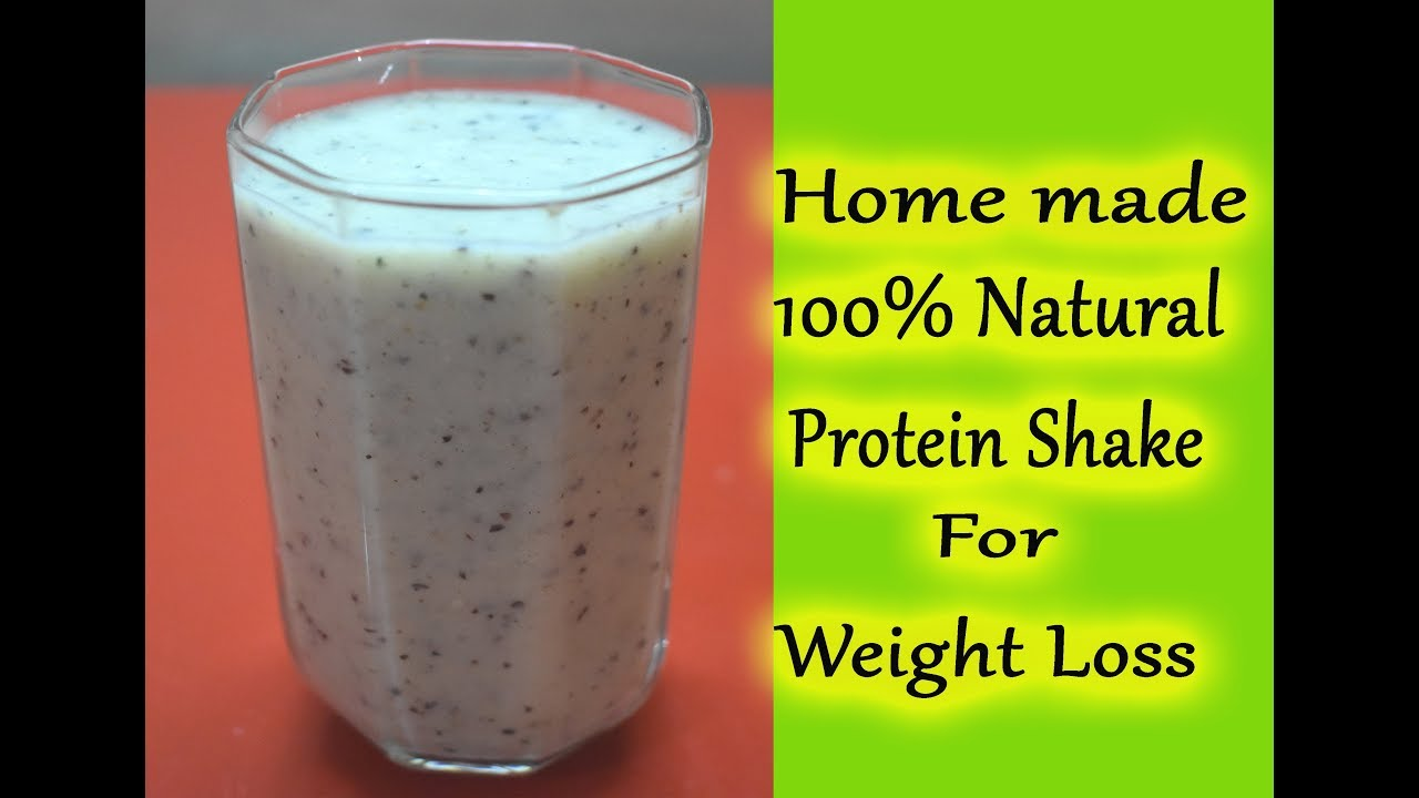 how to make weight loss protein shakes at home