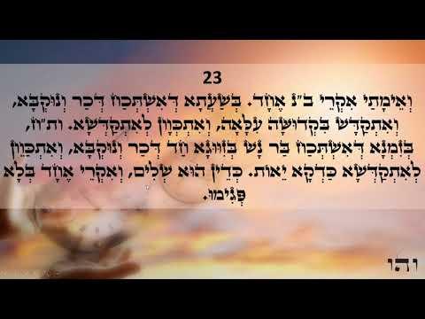 Happy day Light warriors!!! ZOHAR daily reading Kedoshim 21-24 Love & Light