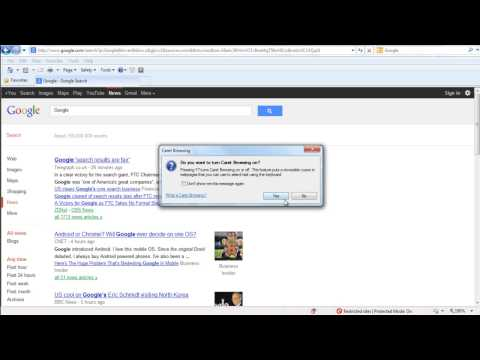 What is Caret Browsing in Internet Explorer