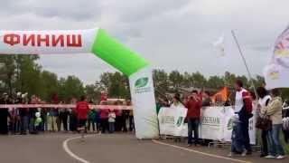 Забег Зеленый марафон 2014 Красноярск