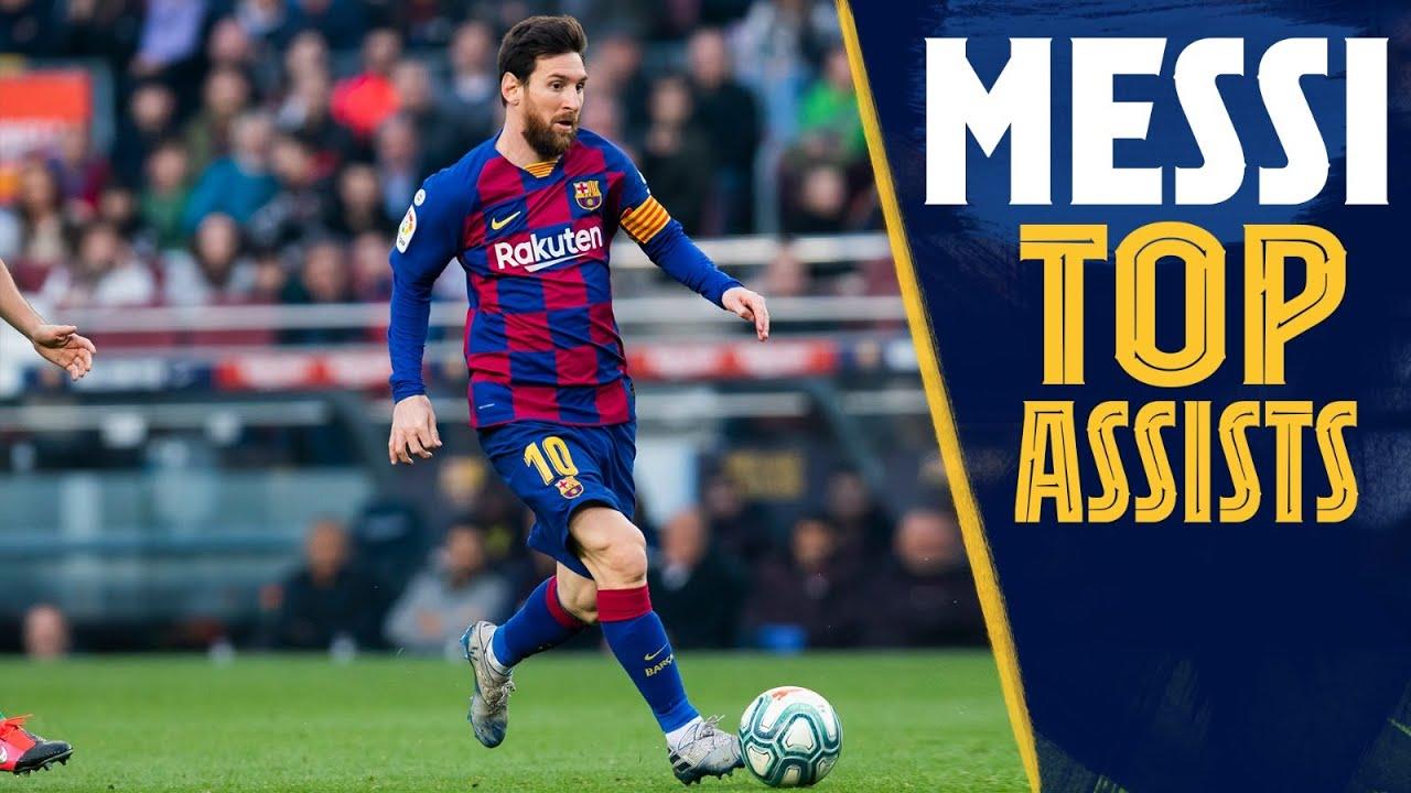 Download TOP ASSISTS: Leo Messi's best assists compilation