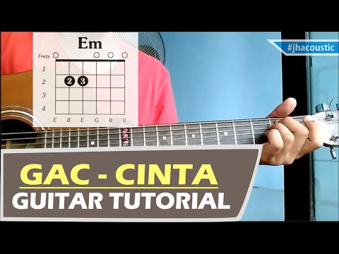 CINTA - GAC CHORDS / Gitar Tutorial