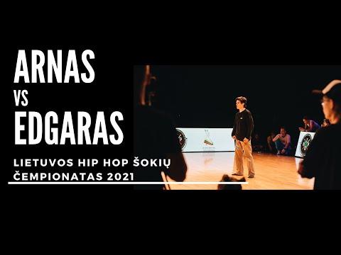 Hip Hop čempionatas 2021 | Adults Solo Finalas Arnas x Kerpė | Me Gusta