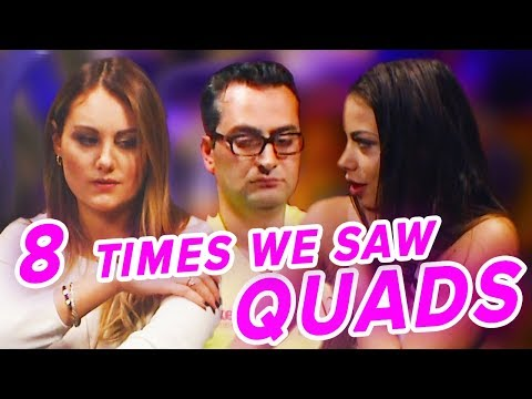 8 TIMES WE SAW QUADS ON POKER NIGHT