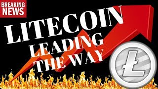 LITECOIN LEADING THE WAY AGAIN? litecoin technical analysis, litecoin bitcoin price today,