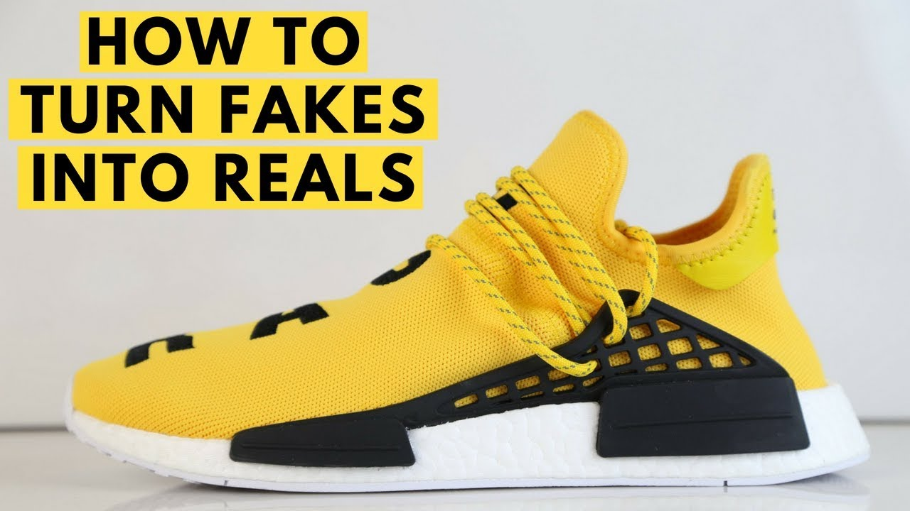Pharrell Hu Adidas NMD Yellow Update Sizing Fit Review History