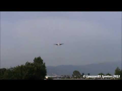 Boeing 757-200 VIM Airlines / Landing @ Naples Capodichino (LIRN) 24