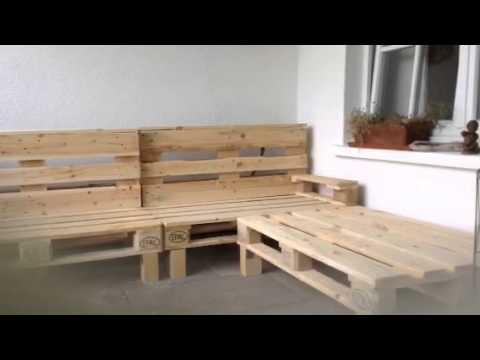 Ruckenlehne Und Armlehne Der Terrassen Sitzgelegenheit Youtube