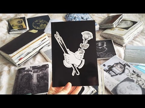 I MADE AN ART BOOK! ( using pages from my art journals )