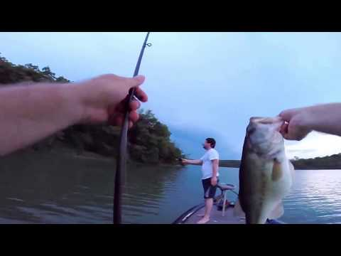 Fishing Thousand Hills State Park - 5lb 2oz Bass in Kirksville, Missouri