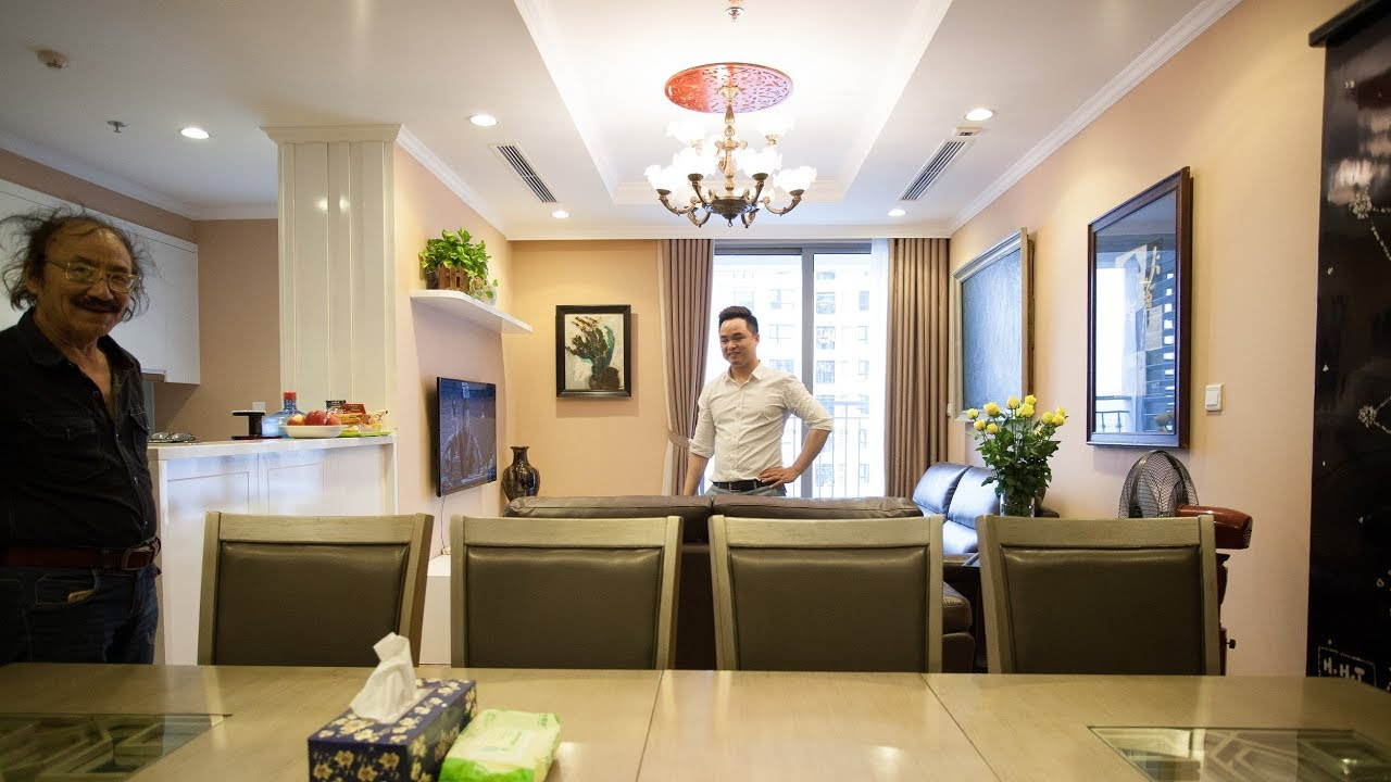 Ảnh thực tế nội thất căn hộ chung cư Park Hill của nhạc sỹ Nguyễn Cường