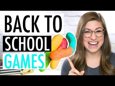 THE BEST BACK TO SCHOOL ACTIVITIES! | Icebreakers And Community Building Games