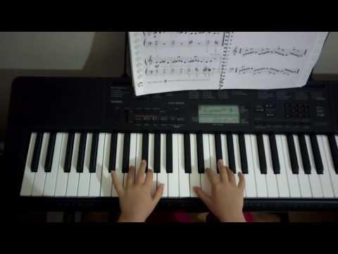 Beethoven IX. senfoni piyanist İdil (6,5 yaş)