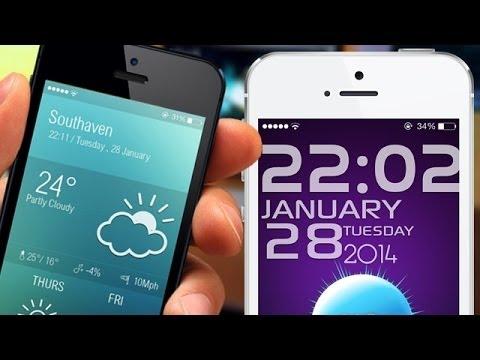Best Ios 7 Lockscreen Themes 2014 Youtube