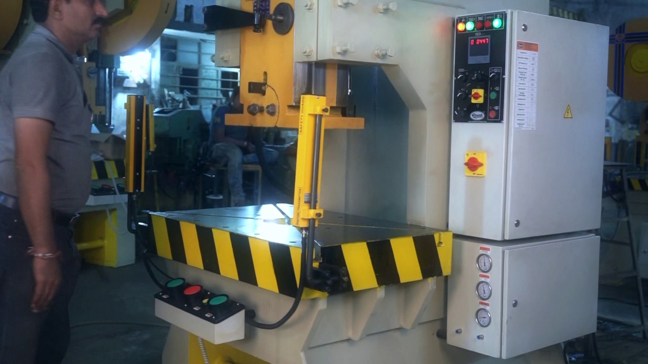 100 Ton Power Press Pneumatic Power Press Press Machine Pneumatic Press Youtube