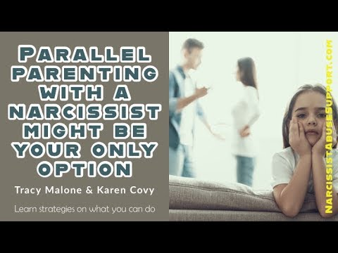 Impossible Co-Parenting with a Narcissist Solution Parallel Parenting – Karen Covy