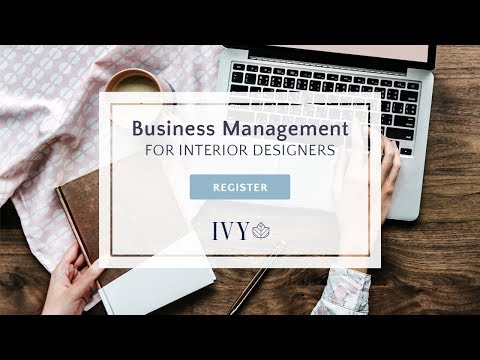 How Interior Designers Use Ivy Co For Business Management Youtube
