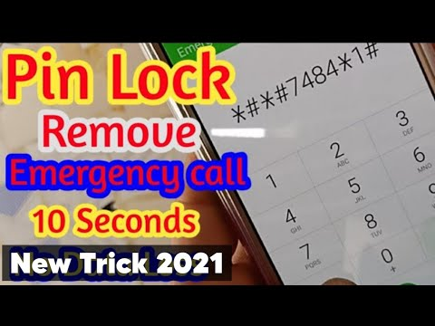 Emergency Mode Remove Pin Lock Without Any Computer And Flashing | No Data Loss New Solution 2019