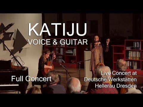 Full Concert - KATIJU @ Deutsche Werkstätten Hellerau Dresden (March 21, 2018)