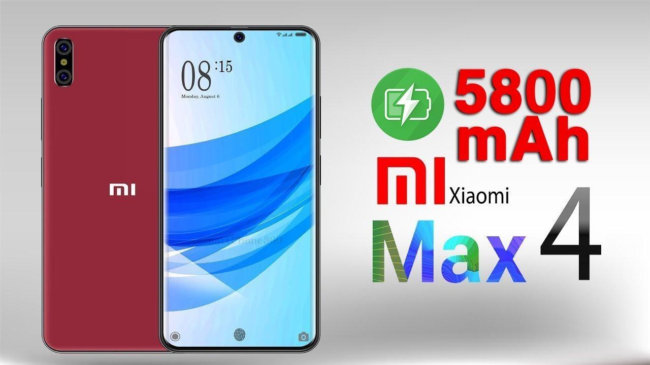 Xiaomi Mi Max 4 và Mi Max 4 Pro lộ thông số: Chip S675 Pin 5800 mah