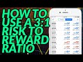 How To Use A 3:1 Risk To Reward Ratio (Forex Trading ...