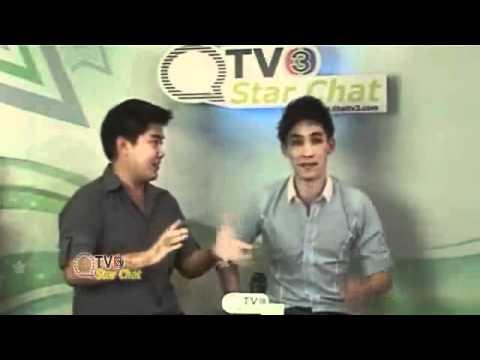 Nadech + Yaya @ Thaitv3 - Star Chat [1]