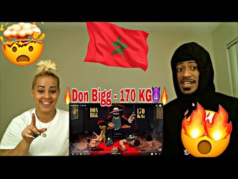 DON BIGG - 170 KG REACTION 🔥 🇲🇦  EXTREMELY CRAZY MOROCCO ARTIST MUST WATCH!
