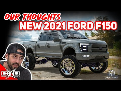 REACTING To The NEW 2021 Ford F-150