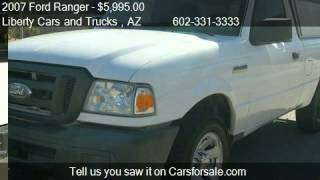2007 Ford Ranger XL 2WD - for sale in Phoenix, AZ 85032
