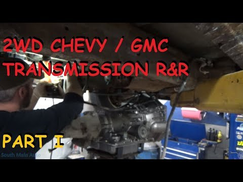 Chevy / GMC 2WD Truck Transmission Replacement – Part I