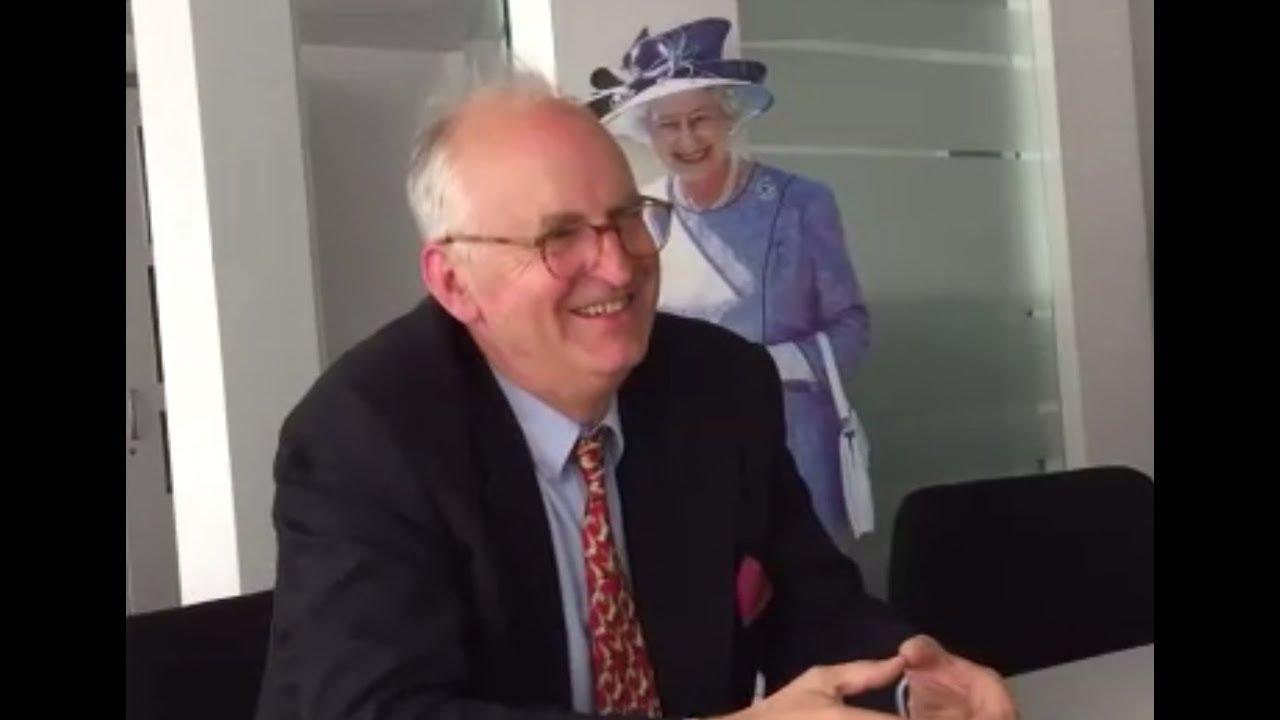Michael Prinz Zu Salm Salm Zur Royalen Hochzeit Bei Den Windsors