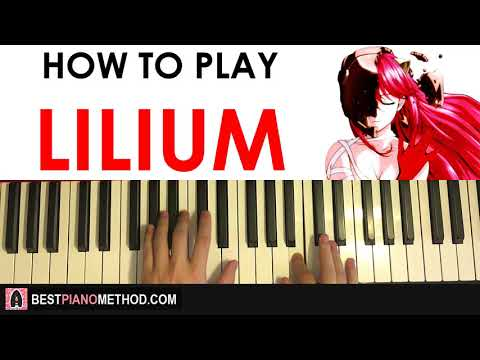 HOW TO PLAY - Elfen Lied OP - Lilium (Piano Tutorial Lesson)