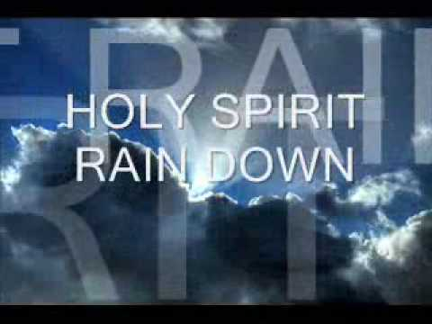 Lyrics containing the term: rain down