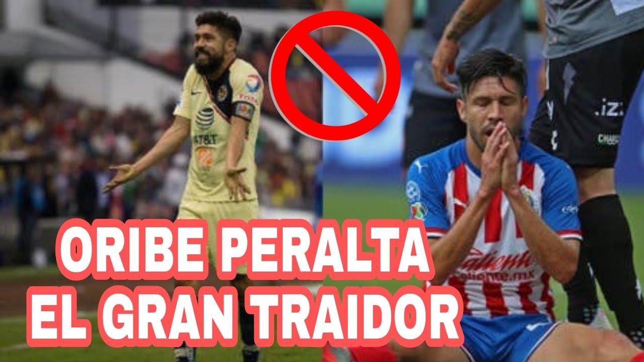 ORIBE PERALTA EL TRAIDOR DEL AMÉRICA EL FALSO ÍDOLO