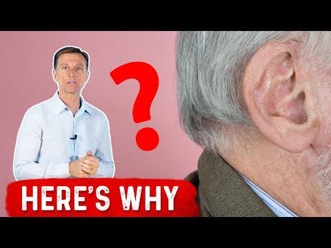 Why do Ears and Nose Grow as You Age?