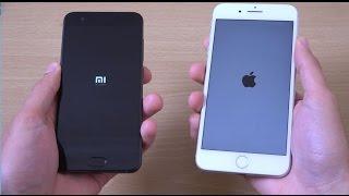 Xiaomi mi6 vs iPhone 7 Plus - Speed Test!