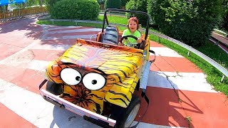 Family Fun Adventures Ride on Safari Jeep Cars for kids