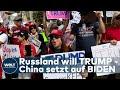 RUSSLAND, CHINA UND IRAN: Geheimdienste Warnen Vor Ausländischer Einflussnahme Auf Die US-Wahl