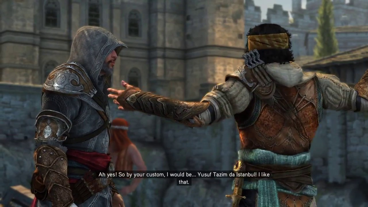 Assassin S Creed Revelations Ezio Meets Yusuf Tazim Youtube