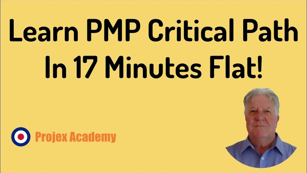 Learn Pmp Critical Path In 17 Minutes Flat Then Check Out My Pmp