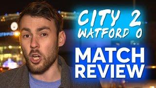 MAN CITY 2-0 WATFORD | Goals: Zabaleta, Silva