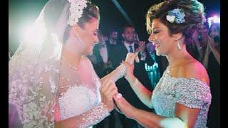 بالفيديو لقطات من حفل زفاف شام بنت الفنانة اصالة بحضور مجموعة من الفنانين
