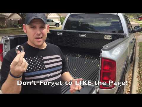 How To Prevent Tailgate Theft With A Hose Clamp or Tailgate Lock - FOLLOW UP - Part 2