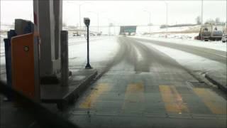 Quebec Highway 30 tollbooths / poste de péage Nouvelle Autoroute 30